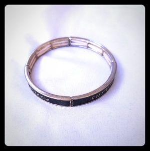 Jewelry - Believe, Hope, Strong, Survive stretch bracelet!